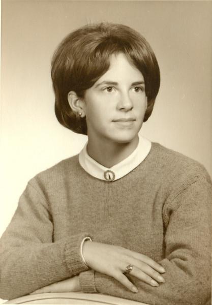 1965 Patti Soreff High School Graduation Photo