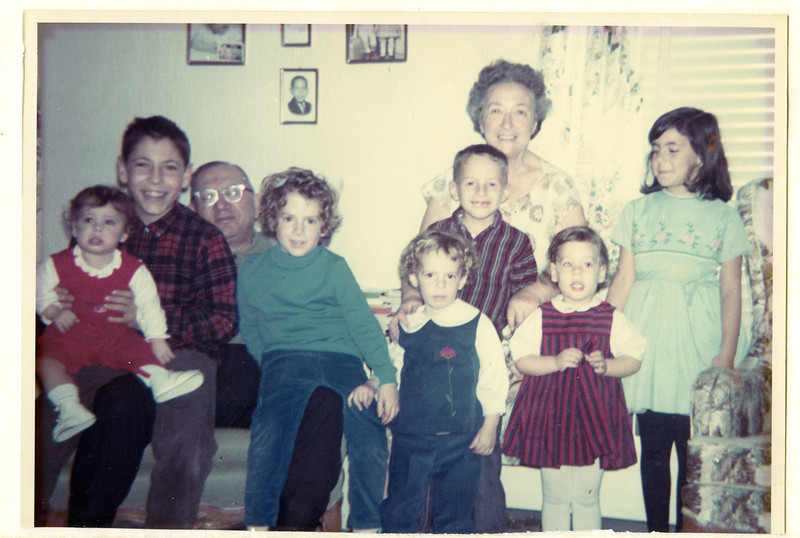 1964 12 Al and Bertha with Grandkids