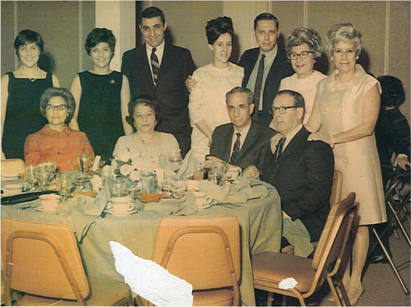 1965 Joan Abrams Wedding