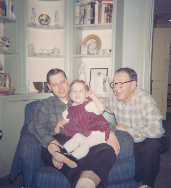 1964 12 Robin with her Best Guys