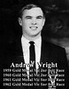 1959-1962 Andrew Wright - Gold Medallist