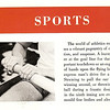 The lead page of the Sports Section of the 1965 Odasagiah featured this intro opposite a full page color spread of the 64 V8 on the water in uniform.
