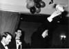 "1964<br /> Portsea Presentation Night<br /> L-R<br /> Gus Milligan (Club Captain)<br /> Vernon Spencer (Treasurer)<br /> Mike ""Goofy"" Phelan (Club Champion)"