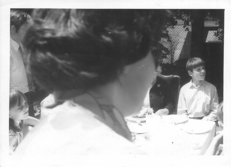 Lunch with Mary and Dave at Lee on Solent. Sheila in the foreground with Jean and Paul