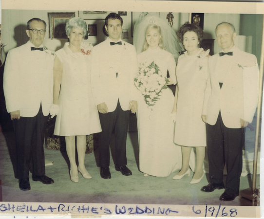 1968 06 Richie & Sheila Segal Wedding