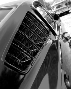 1965 Ford Mustang Fastback Ventilation Louvers
