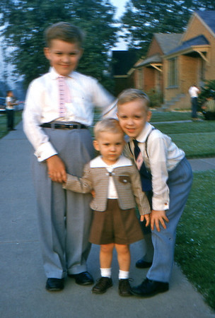 1960 - 15 Bob, Tom and ? Trzaskus