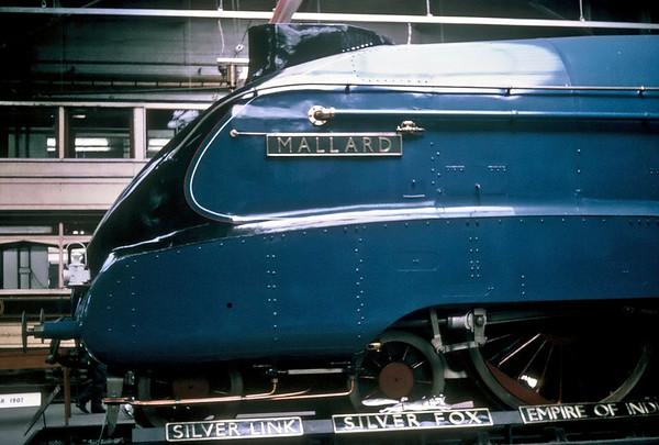 4468 Mallard, Clapham Transport Museum, May 1967
