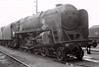 92056, Kingmoor shed, 24 September 1966 1    Built in 1955 at Crewe, and withdrawn in November 1967.