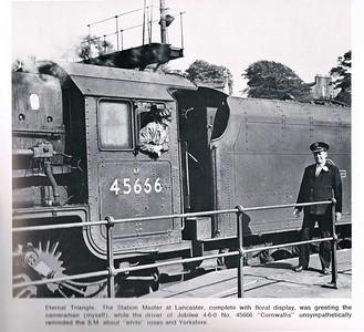 Lancaster Castle station c1963