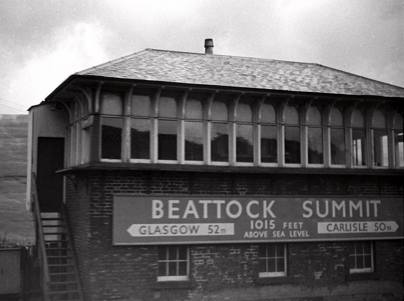 Beattock Summit box, 20 August 1965