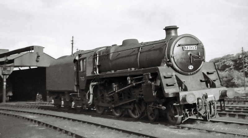 73125, Corkerhill shed, 25 August 1965