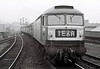 D1980 (47278), 1E68, approaching Holbeck High Level, Sat 29 April 1967.  This loco was scrapped in 1999.