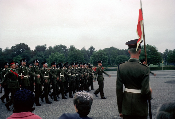 Dad's Passing Out Parade at Mons