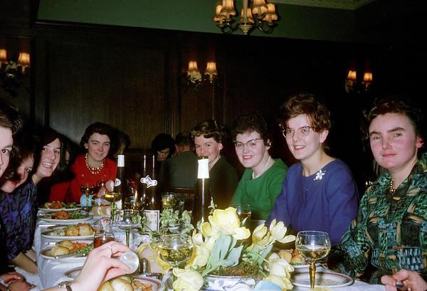 Midland Bank's 1962 Ladies' Christmas Dinner