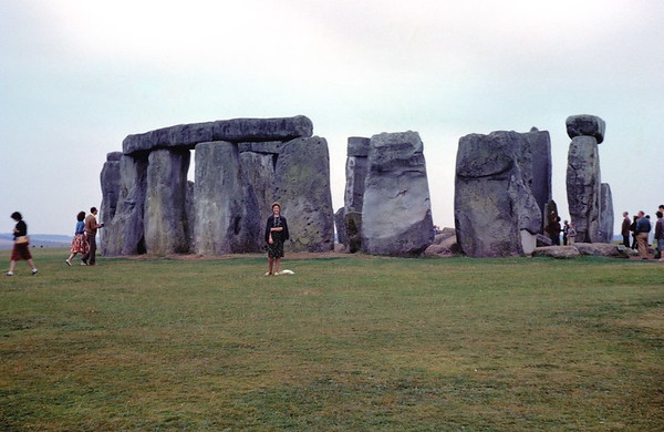 Mum and Dad at Stonehenge