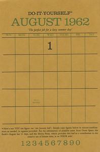 August, 1962, Herity Press