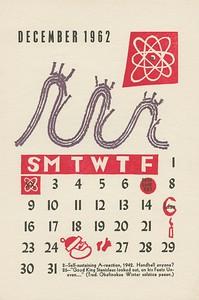December, 1962, Underground Press