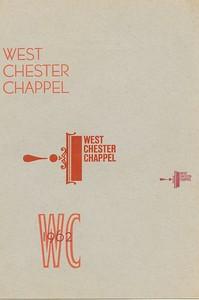 Cover, 1962, Peppercorn Press