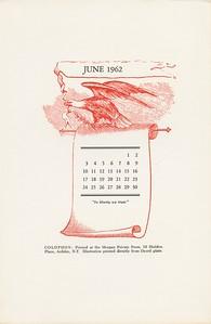 June, 1962, Morgan Press
