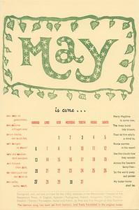 May, 1962, Peppercorn Press