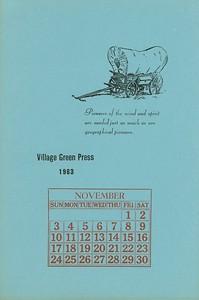 November, 1963, Village Green