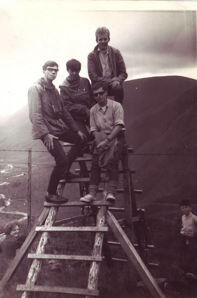 4.  L to R   Paul Vernon, Gavin Dick, John Harvey, Brian Morris
