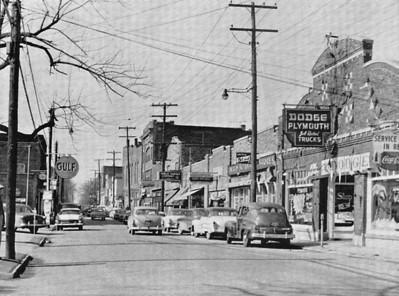 Main Street Greenwood - 1959
