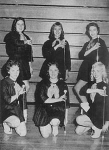 Greenwood Majorettes - 1959