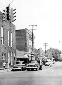 Main Street Greenwood - 1962