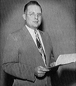Director Verne Jacobs - 1956