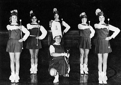 The 1962 Greenwood Majorettes