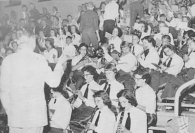 Greenwood Pep Band - 1956