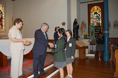 Pre- freshman Pinning Ceremony