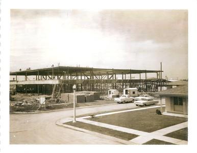 1965 Church/School Building Progress