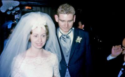 Jim and Mary Powles Wedding - May 1965