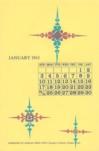 January, 1965, Morgan Press