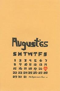 August, 1965, Peppercorn Press