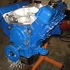 Stock rebuild, thunderbird special 335hp 425 ftlb torque. Edelbrock performer intake mfld