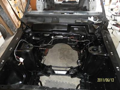 Engine trans install