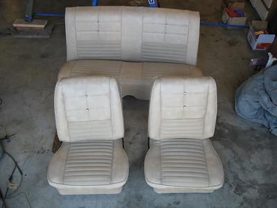 New upholstery interior