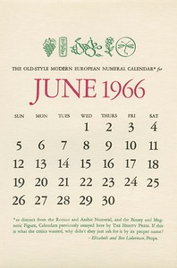 June, 1966, Herity Press