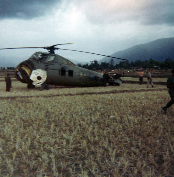 Operation Union (Choppers Collided in Air - Other One Burned)