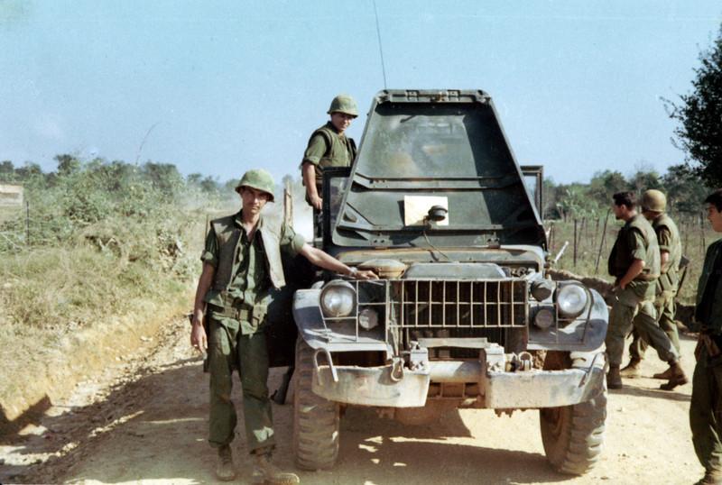 Sgt Daurghty (Left Front)