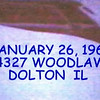 1967 DOLTON IL BLIZZARD  JAN 26