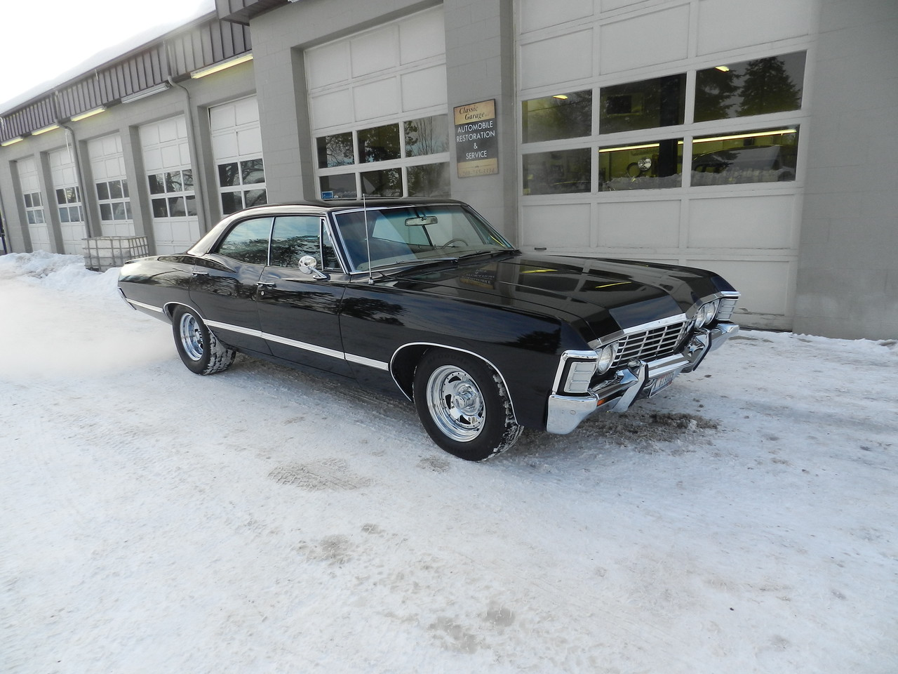 Impala 1967 chevy impala 4 door hardtop for sale : 1967 Chevrolet Impala 4 Door Hardtop - Supernatural Clone Project ...