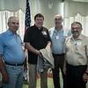 Sam Prymack, Rich Pastula, Bob Gray and Bob Wilson