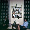 Pete Dranginis and Barbara in our first Simmershausen apartment, Germany, 1967