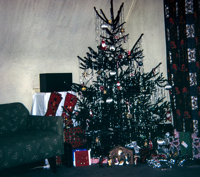 Christmas 1967, Simmershausen, Germany