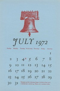 July, 1972, Herity Press